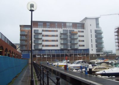External view of Sovereign Harbour, Eastbourne