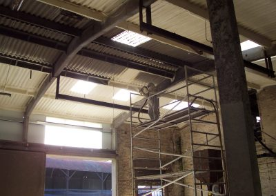 Image of Isotech Sprayfoam installing insulation foam to agricultural premises