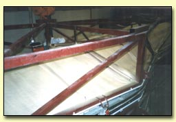 Sprayed Foam Insulation installed to Wind Turbine Blade Mould by Isotech