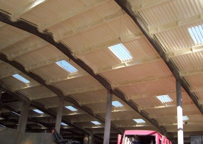 Photo of Sprayed Foam Insulation to Large Barn installed by Isotech