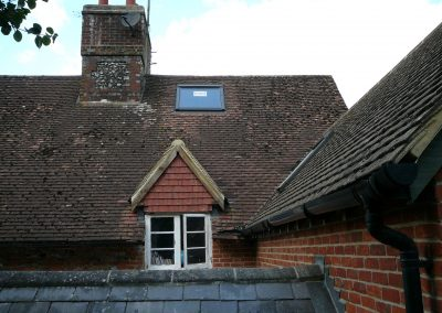 Photo showing Velux Roof Window & Sprayed Foam Insulation to Tiled Roof installed by Isotech