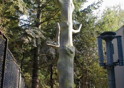 Vodaphone mobile phone mast insulated by Isotech disguised as tree